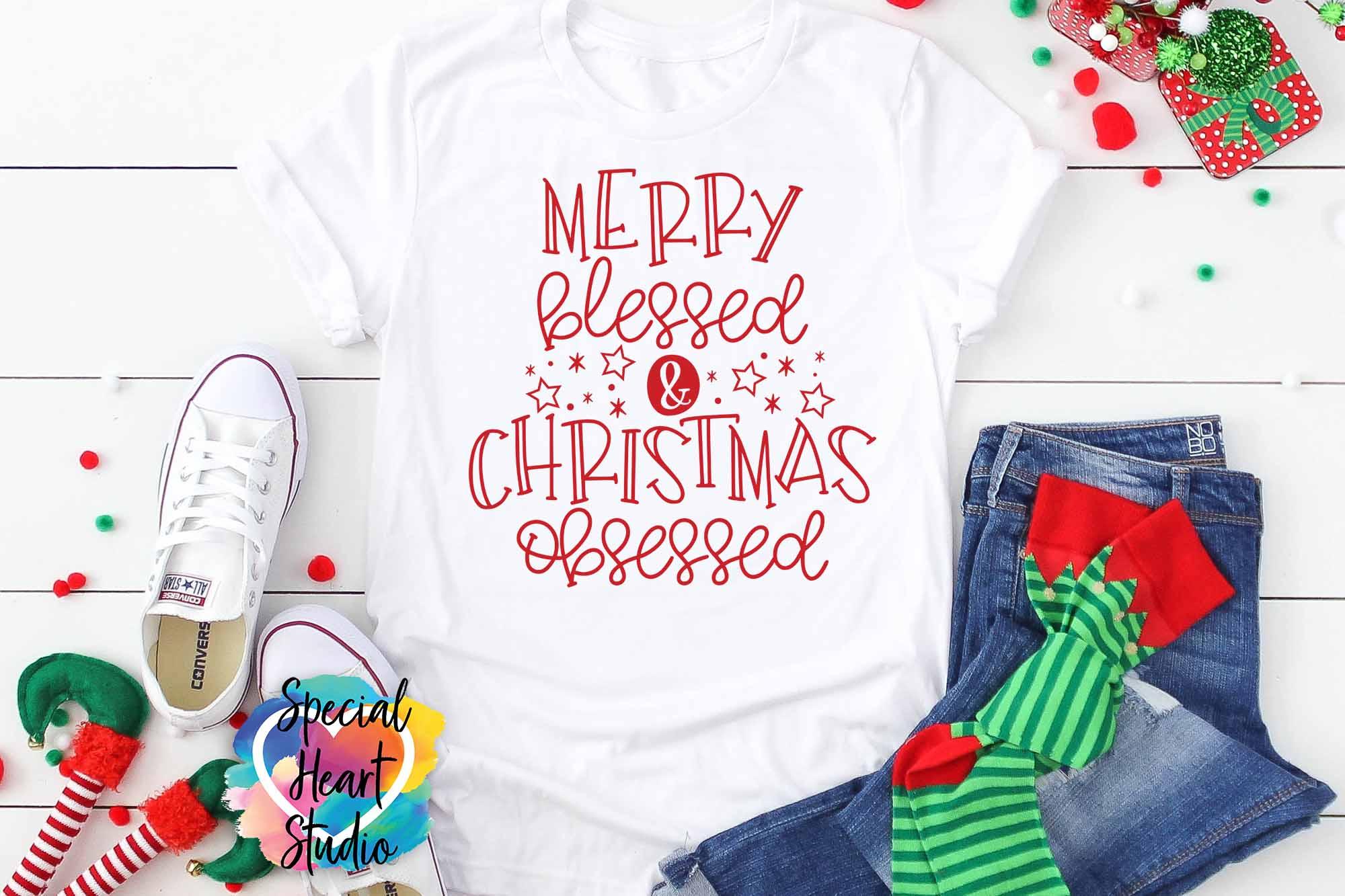 Christmas SVG Bundle - A Christmas Shirt SVG Cut File Bundle example image 4