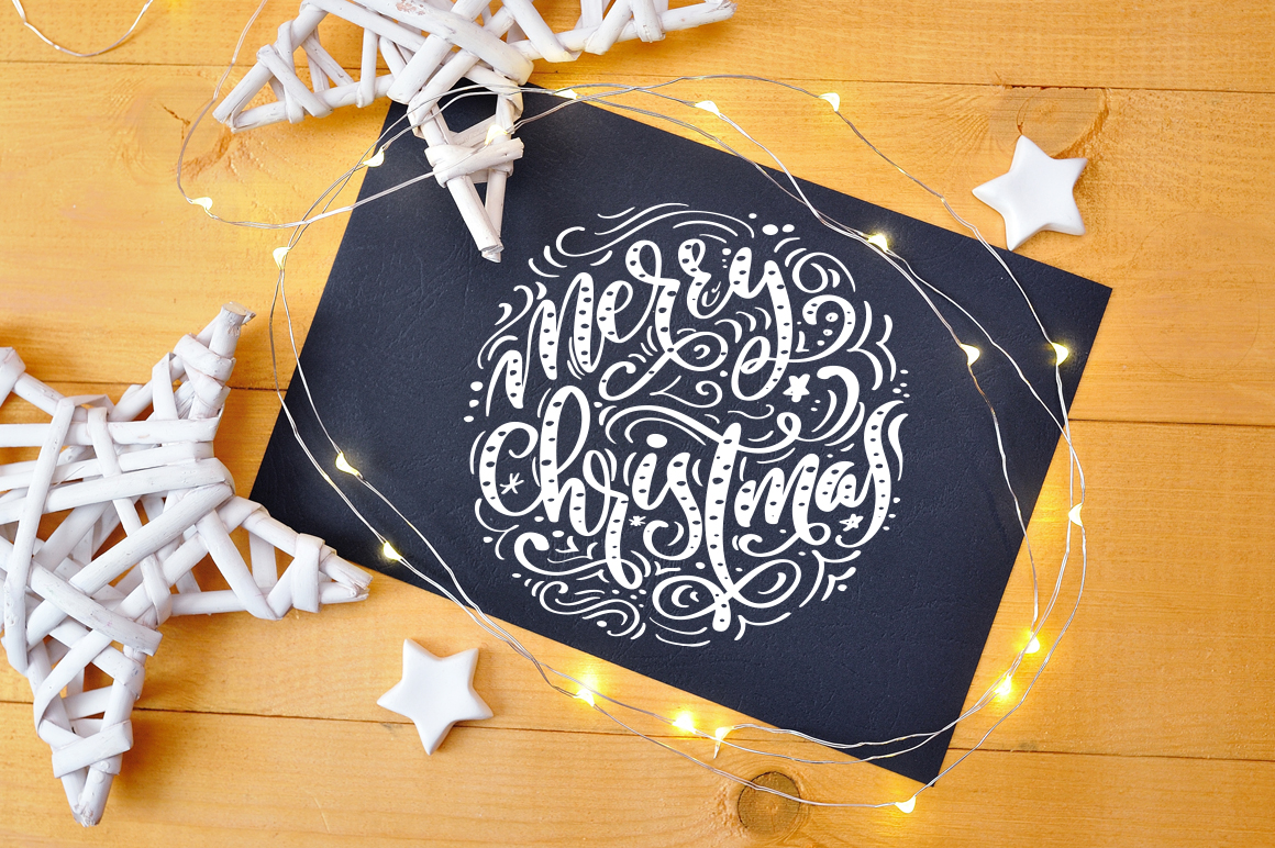 Christmas Mock Up Photos Collection 3 example image 2