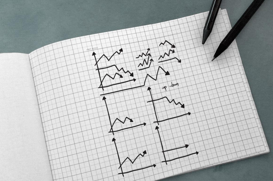 100 Hand Drawn Vector Arrows example image 8
