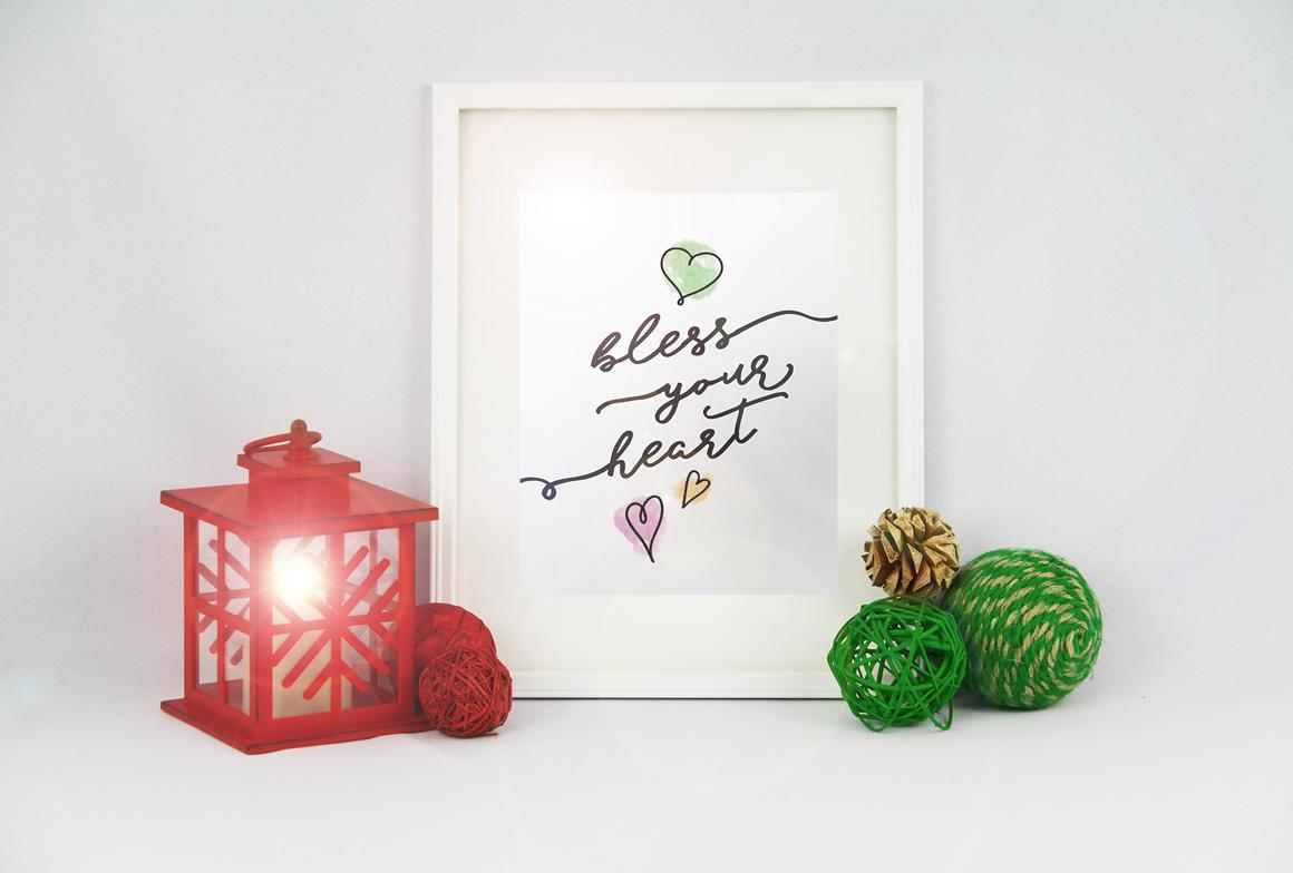 Blessed Script with sweet BONUS example image 6