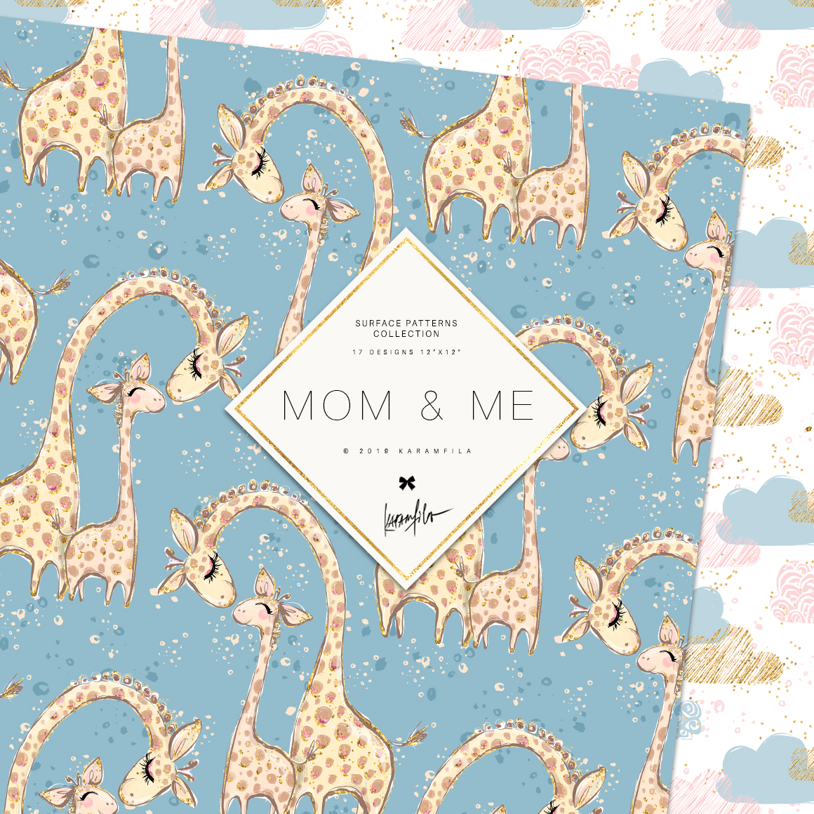 Baby Animals Mother's Day Patterns example image 4