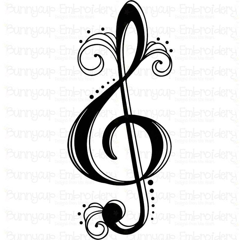 Music Bundle - SVG, Clipart, Printables example image 2