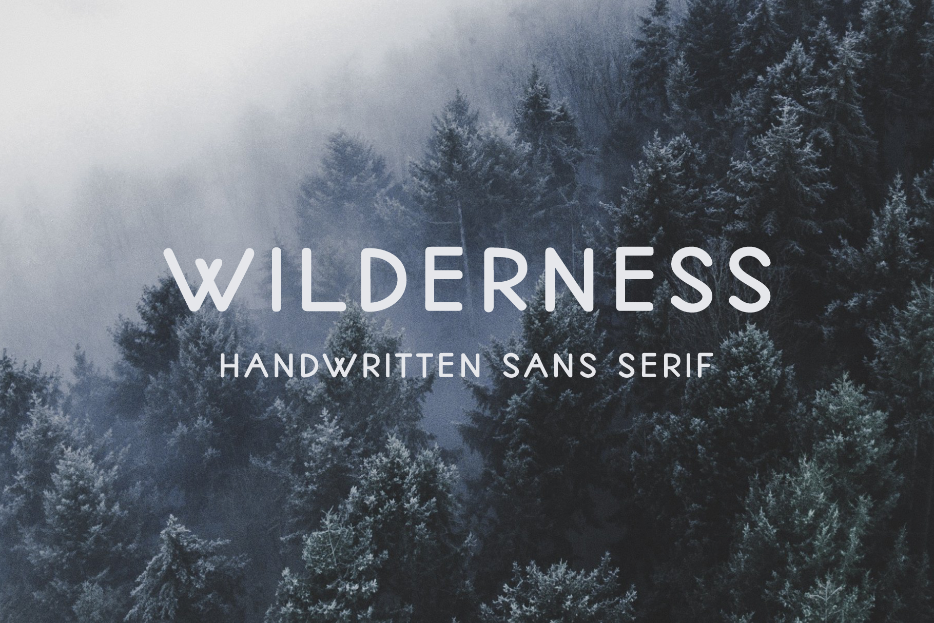 Wilderness | Handwritten Sans Serif example image 1