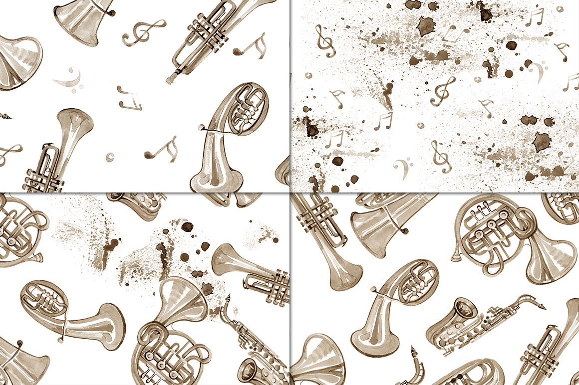 Copper brass band. Vol.2 example image 2