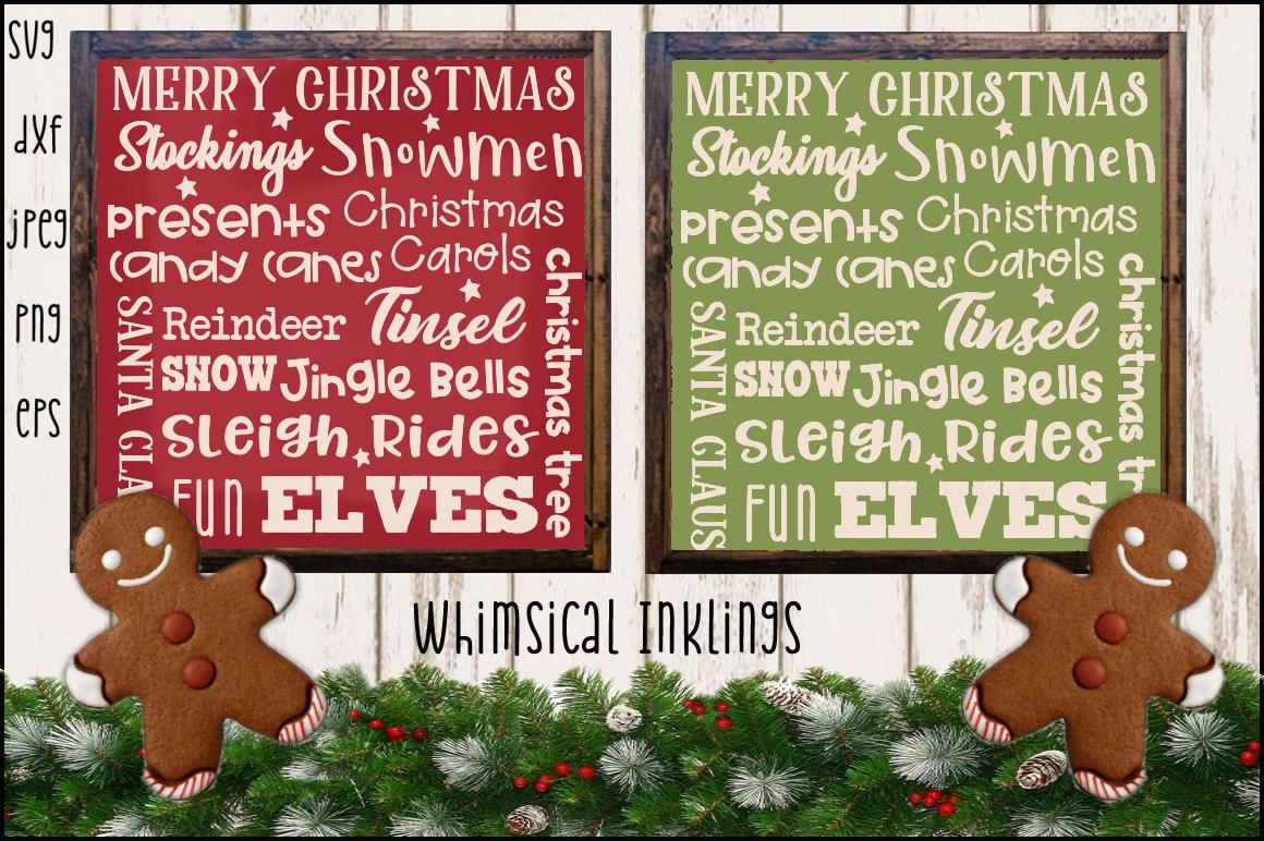 Christmas Cheer SVG Bundle SUPER SAVER example image 7