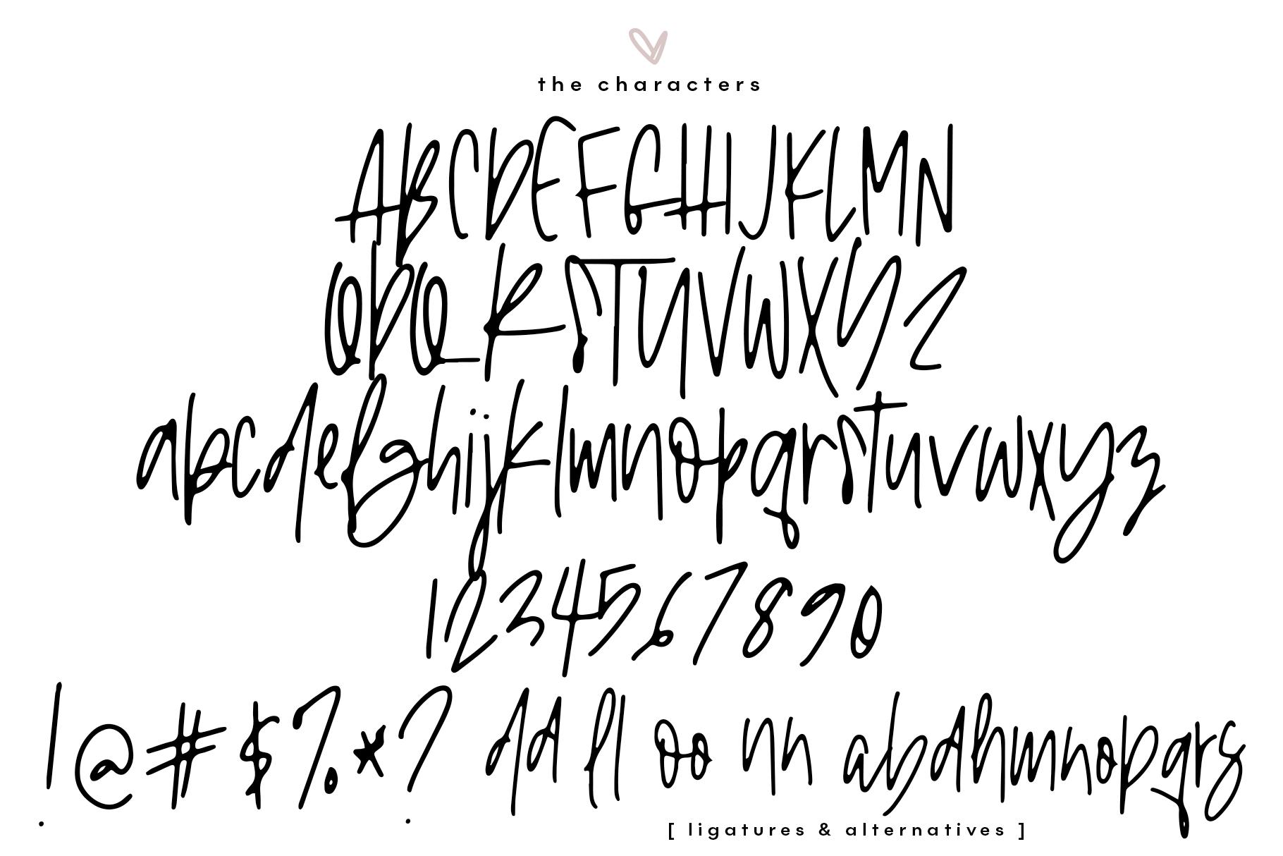 Logan Ann - A Handwritten Font example image 12