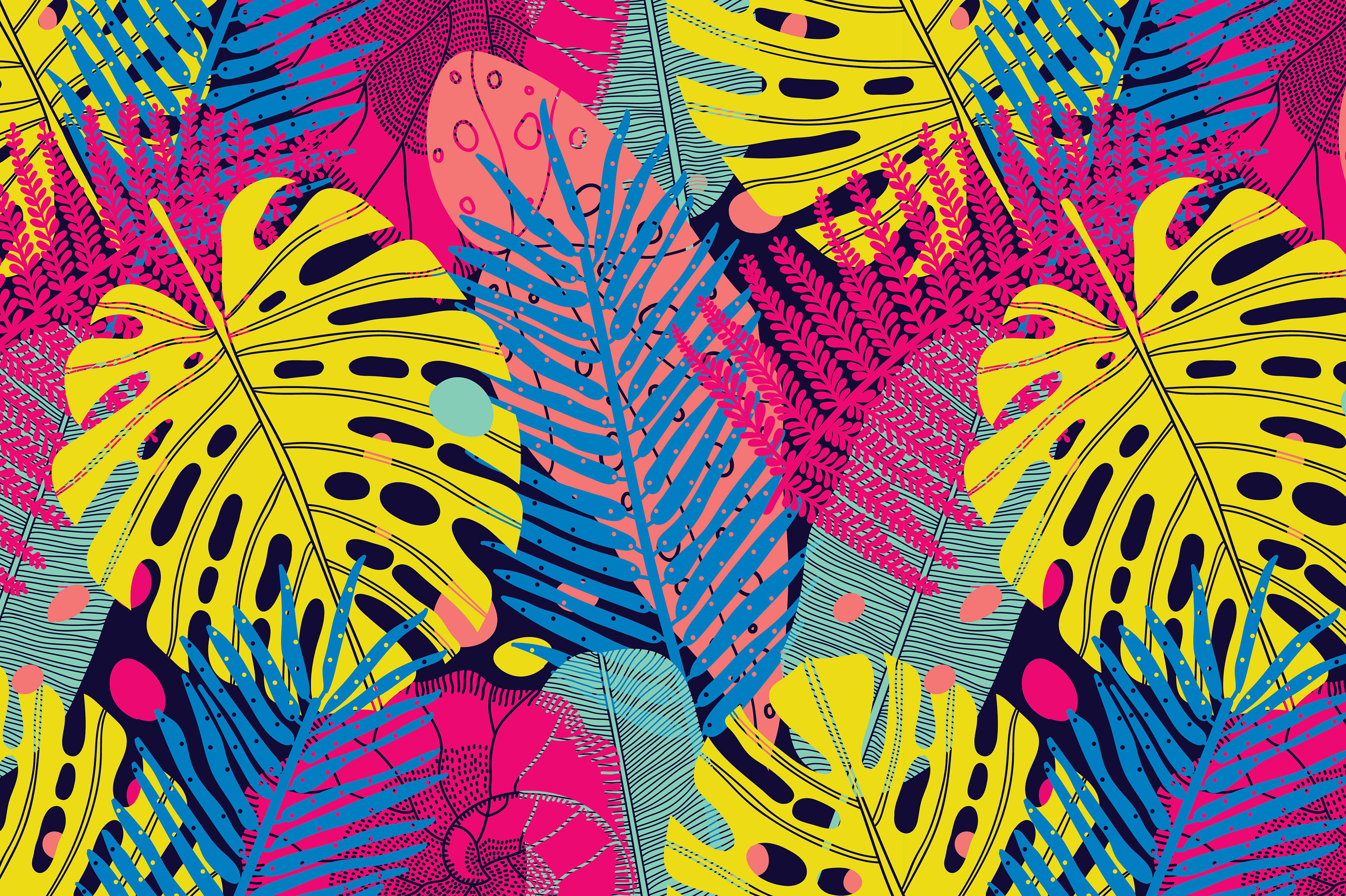 Exotic leaf. Summer mood. example image 5