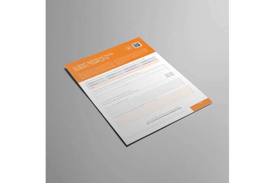 Client Satisfaction Survey Template example image 4