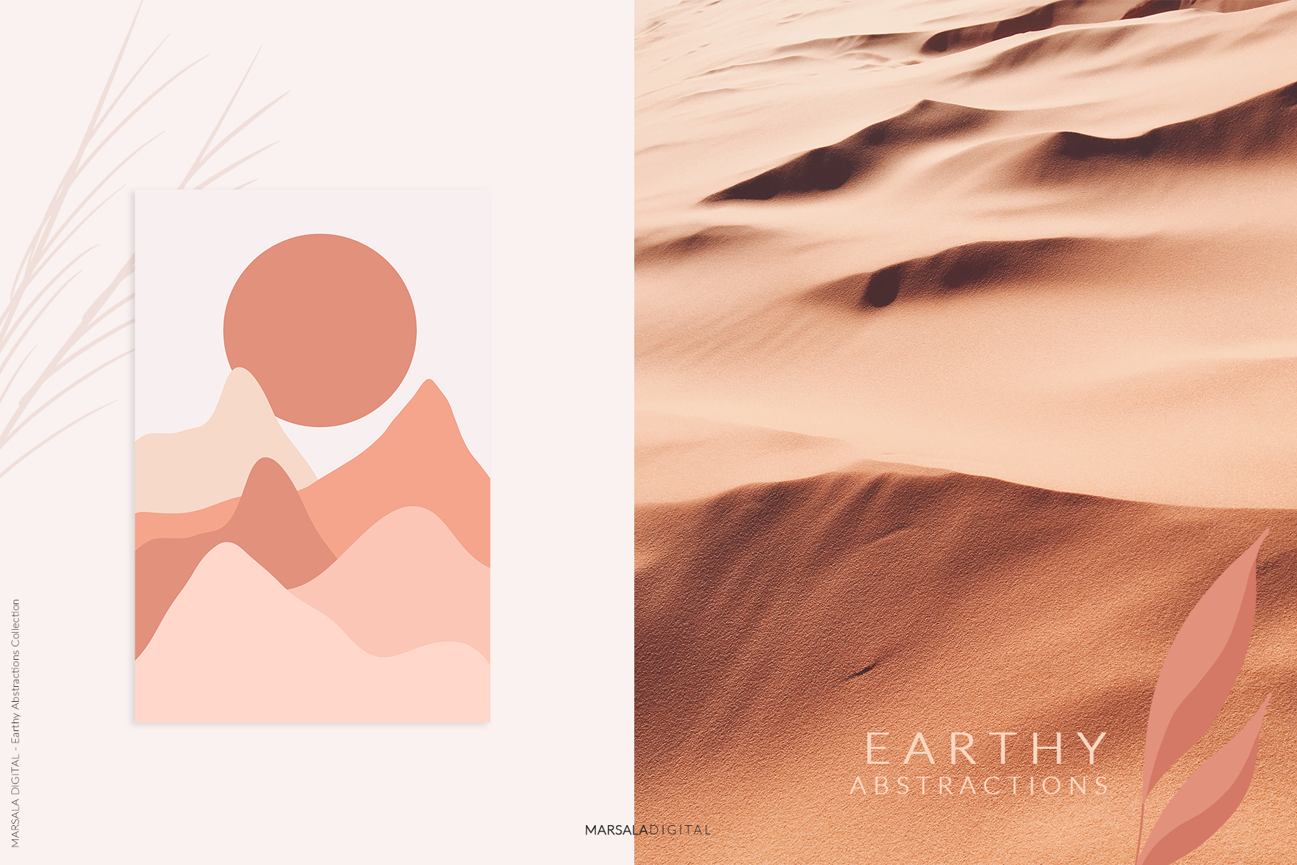 EARTHY Abstractions & Prints Celestial, Desert, Bohemian example image 10