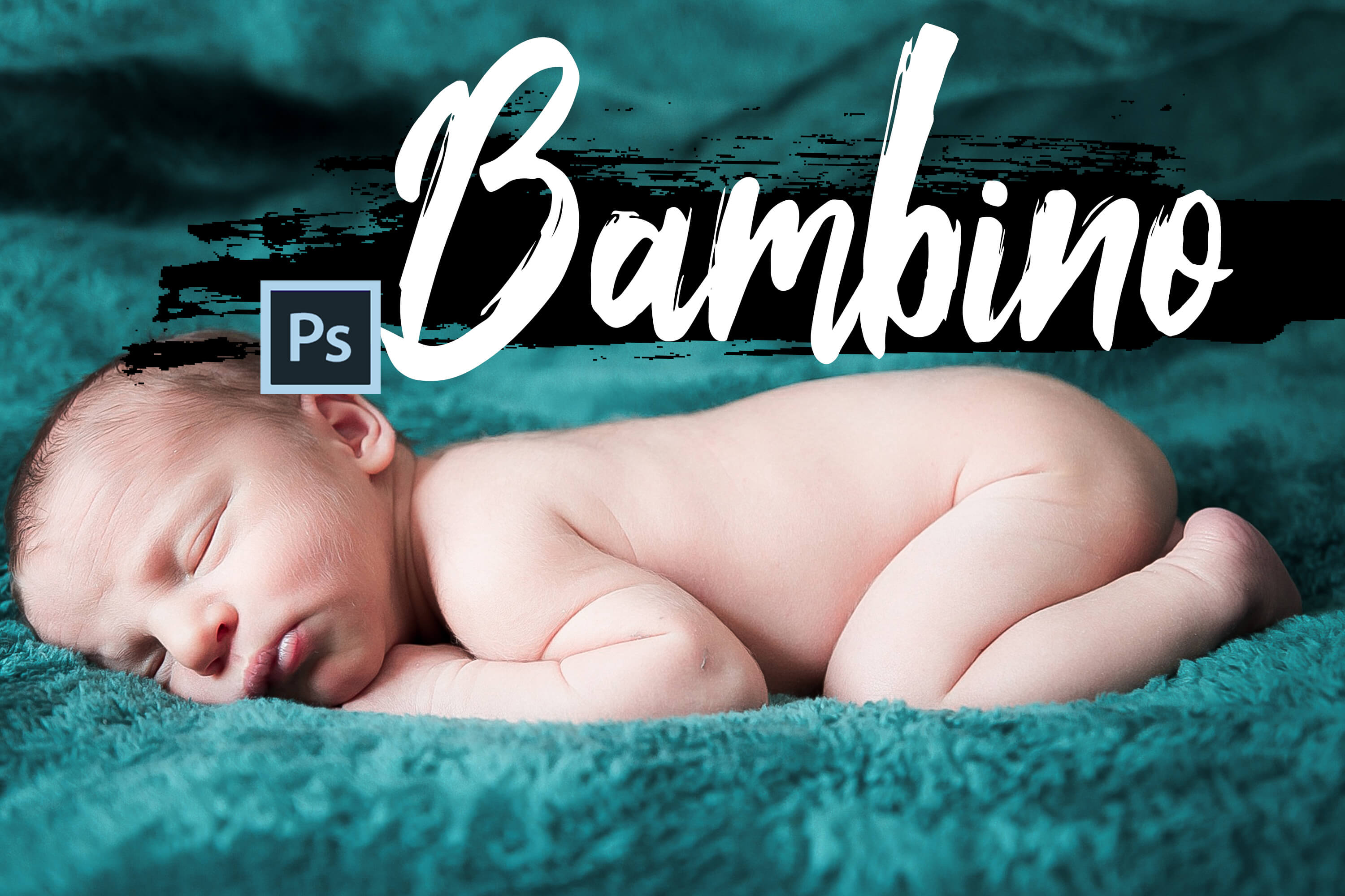 Neo Bambino Theme Color Grading Photoshop actions example image 1
