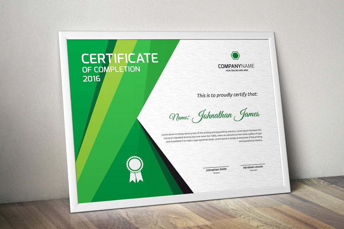 Certificate example image 4
