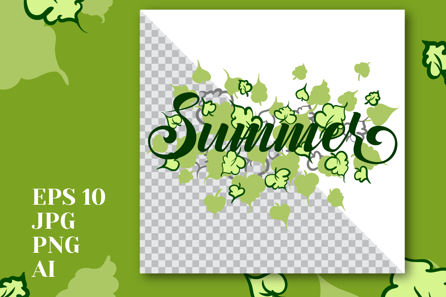 """Print """"Summer"""" example image 1"""