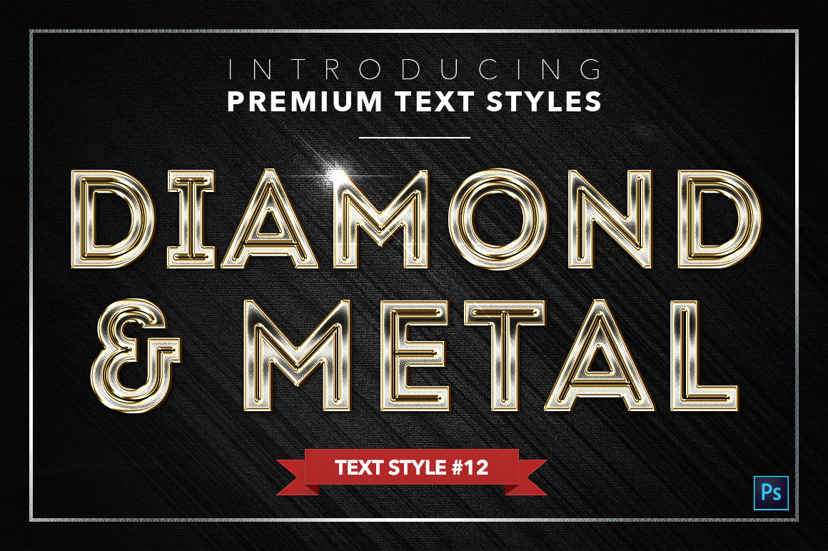 Diamond & Metal #2 - 16 Text Styles example image 13
