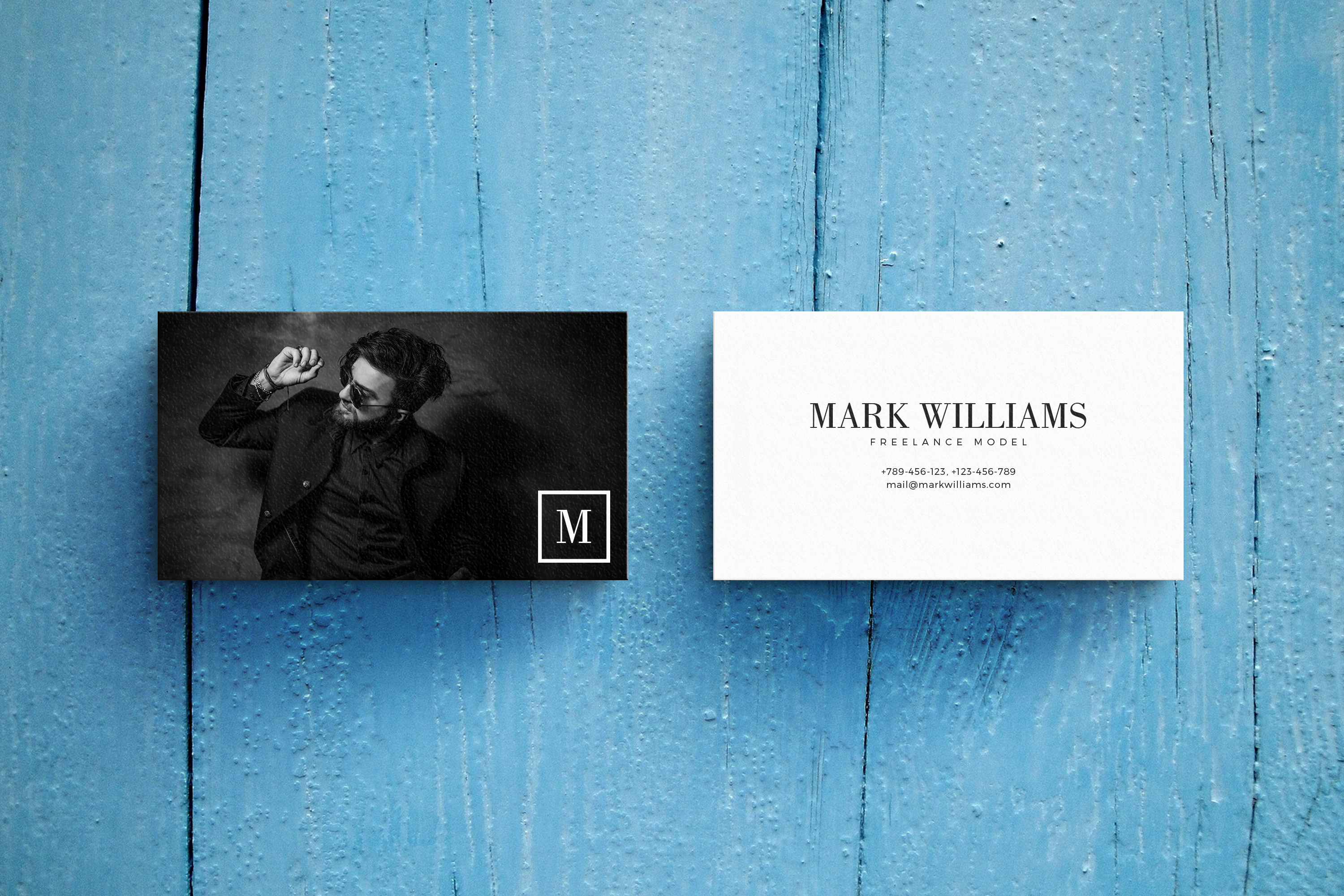 Business Card MockUps with Templates example image 6