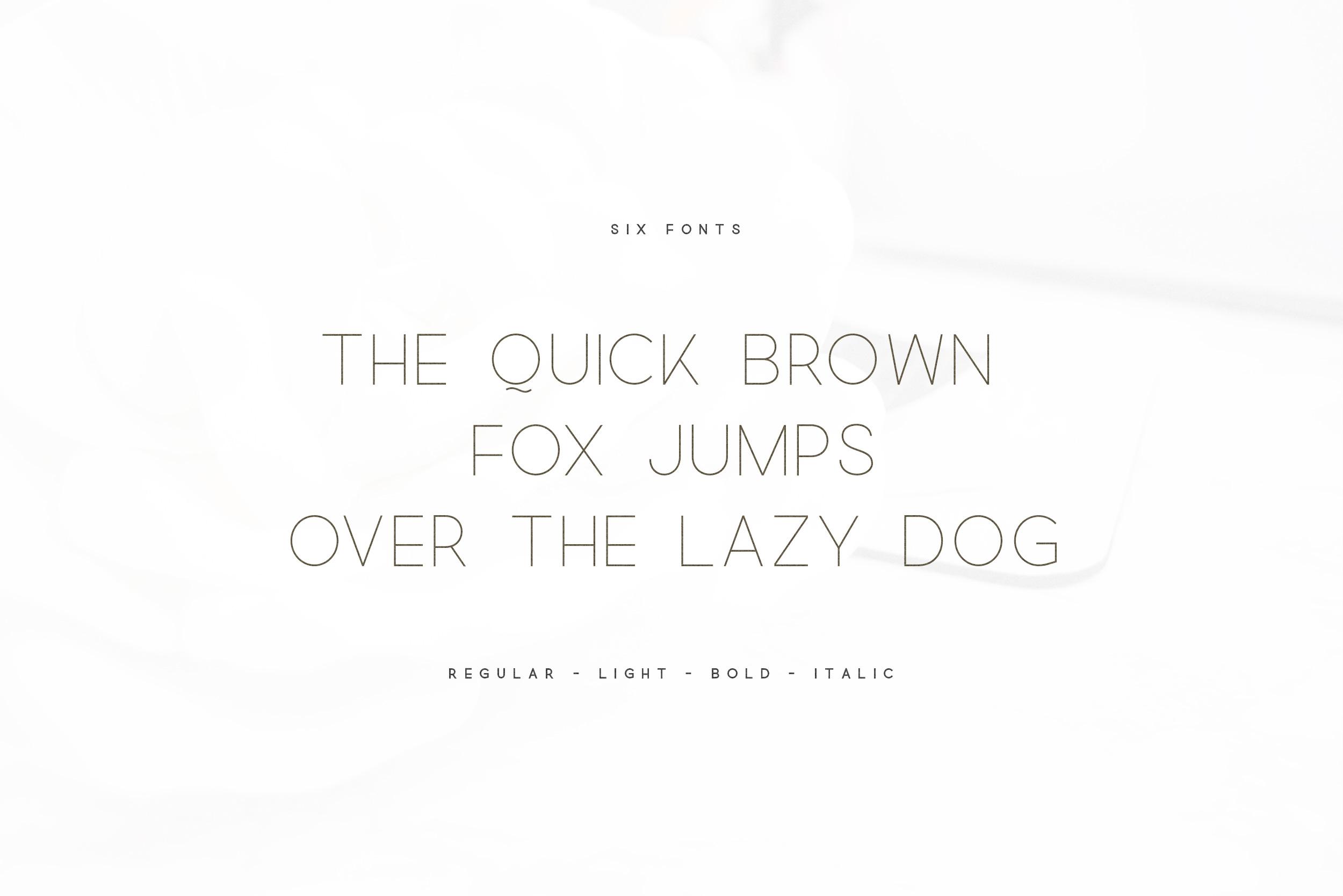 Quick - An Elegant Sans Serif example image 2