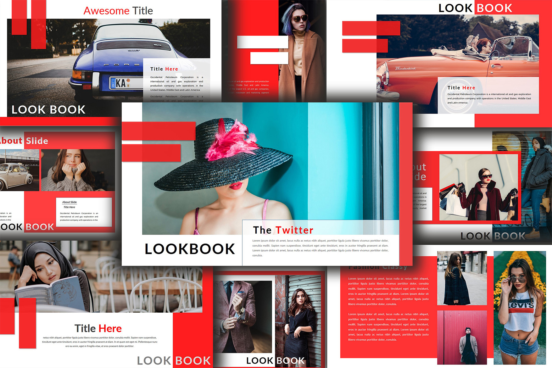 The Twitter Lookbook - Powerpoint example image 6