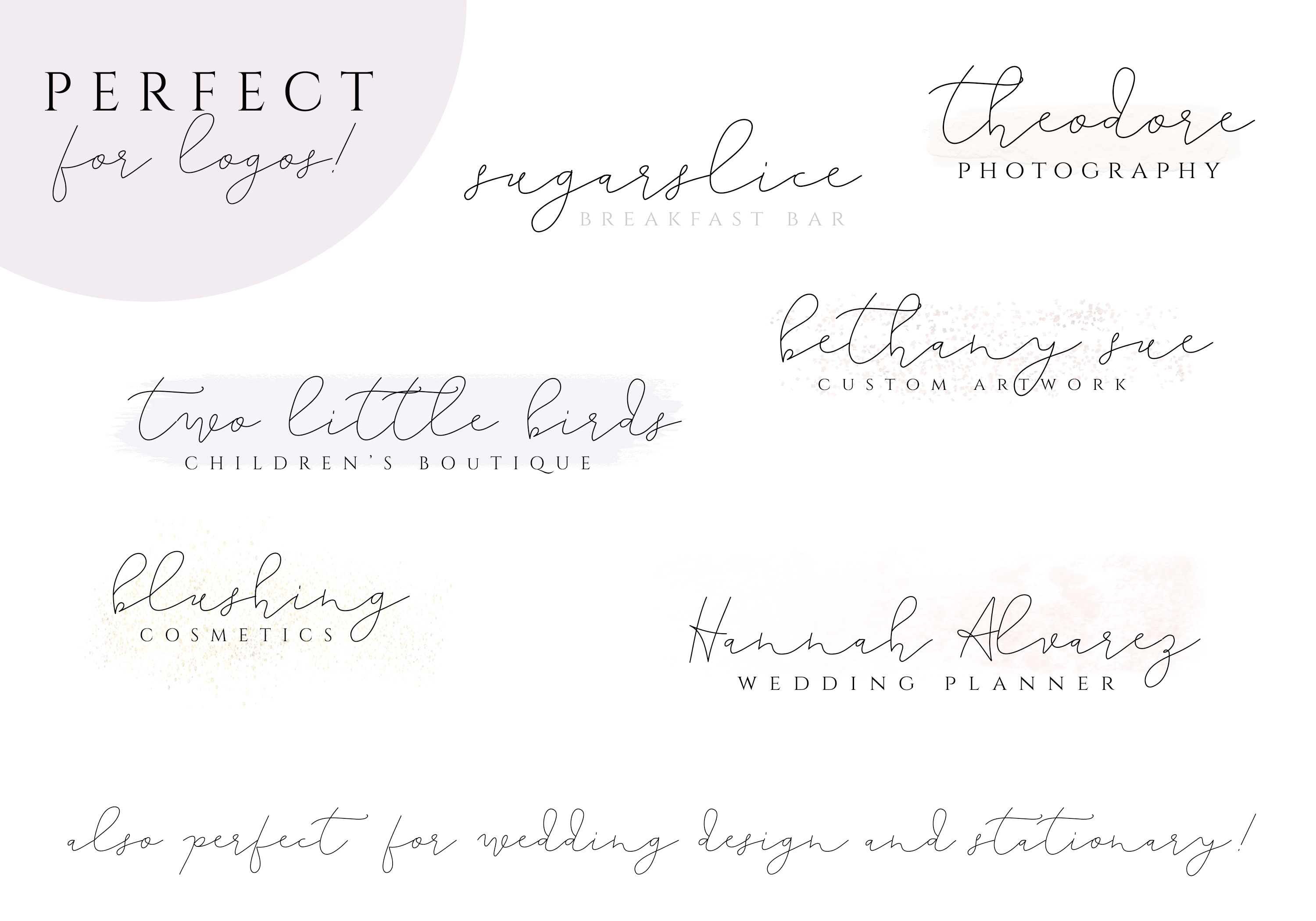 The Lighthouse - Delicate Script Font example image 3