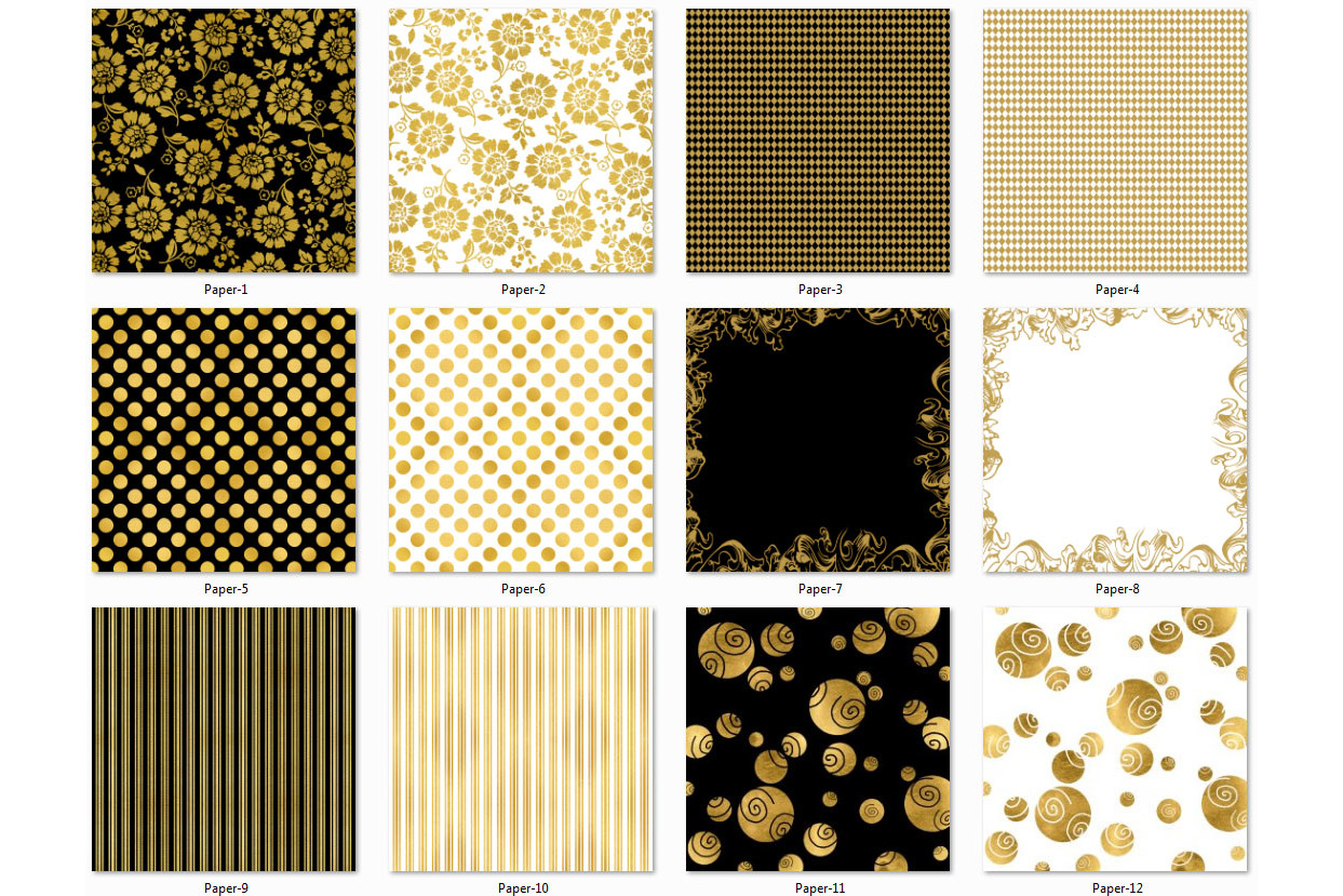 Golden Paper Collection - Paper 3 example image 2