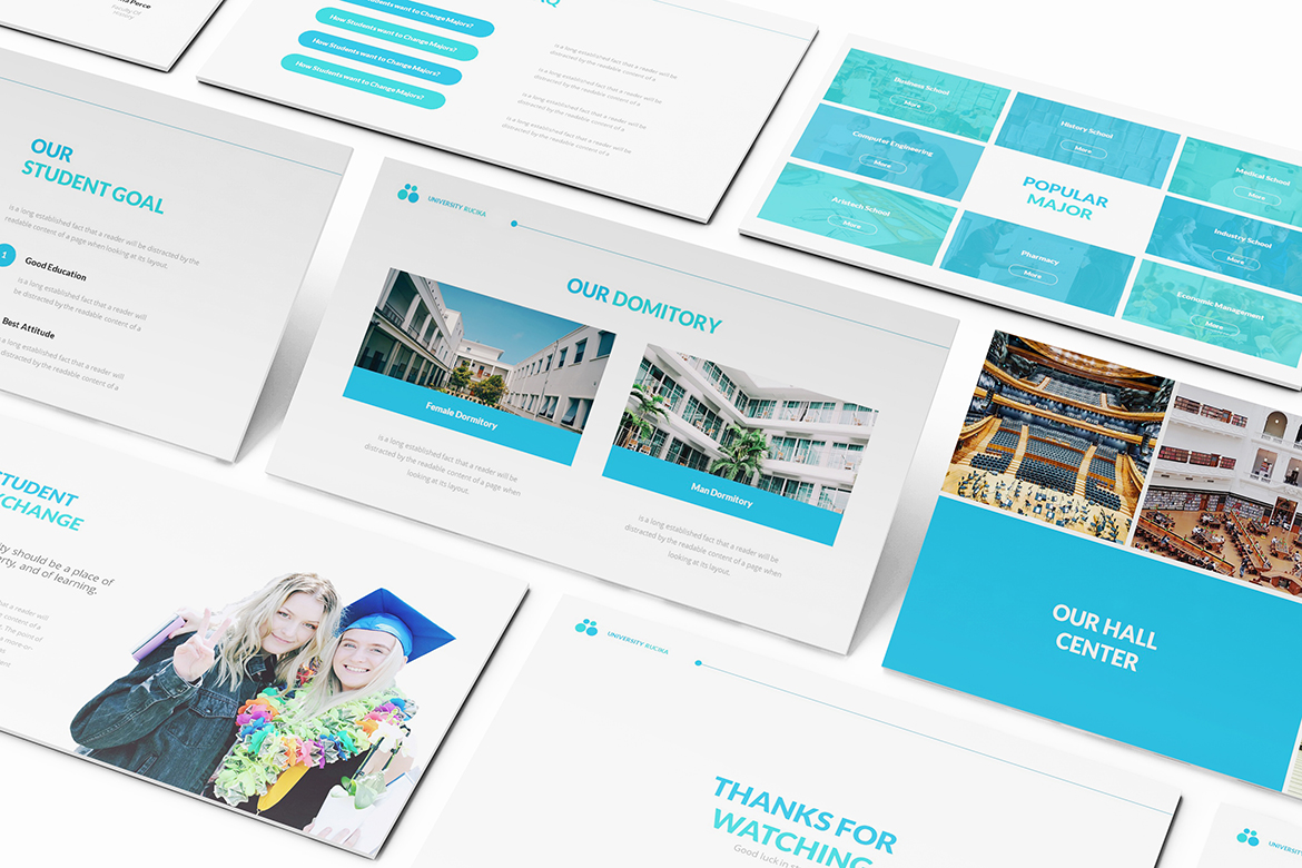 University Powerpoint Template example image 8