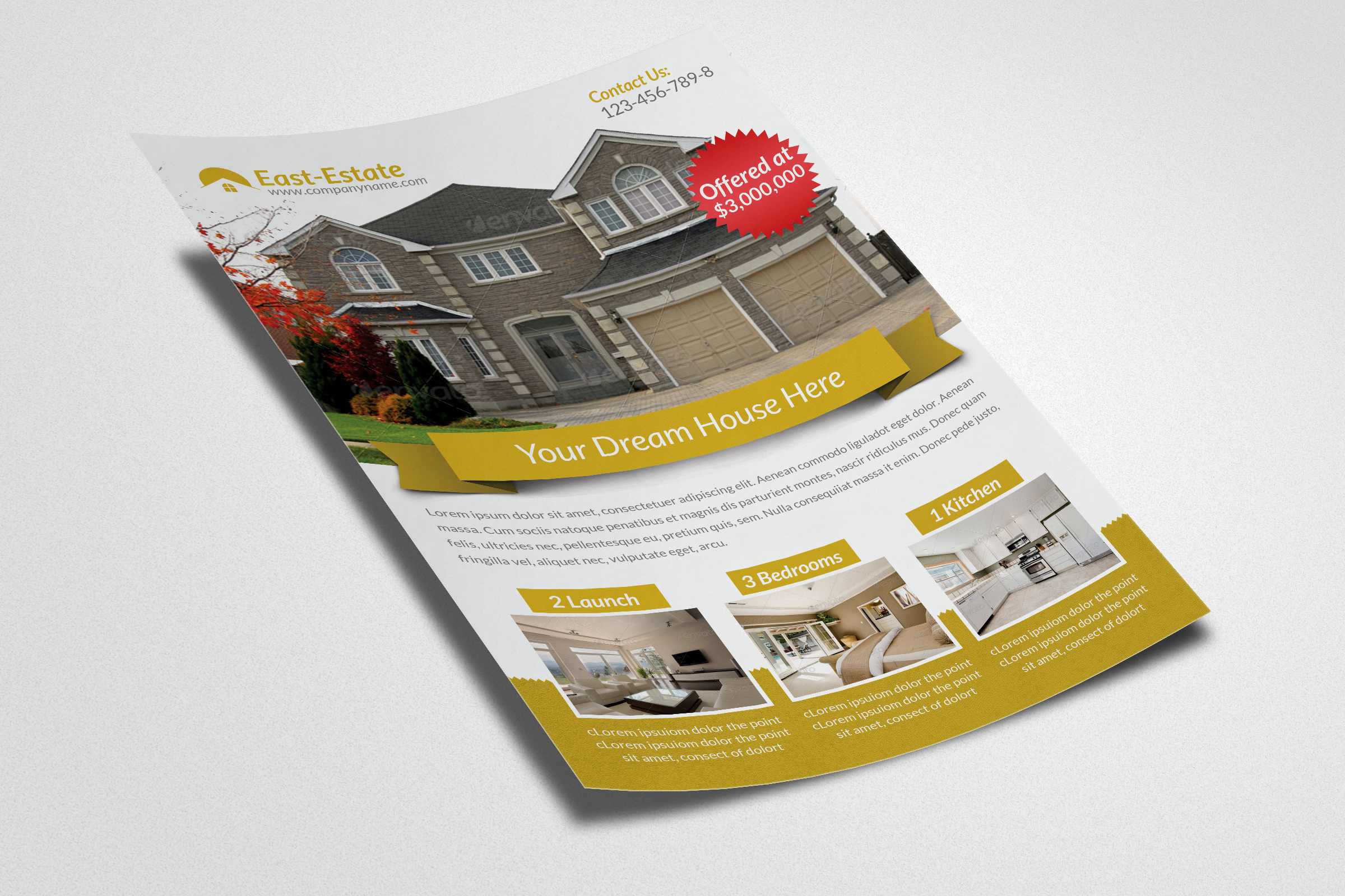 Real Estate Flyer Templates example image 2