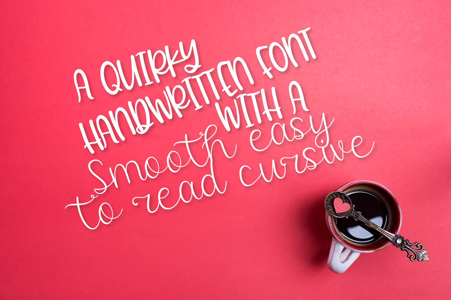 Twirly Font Duo - A Fun Hand Lettered Script & Print Pair example image 3
