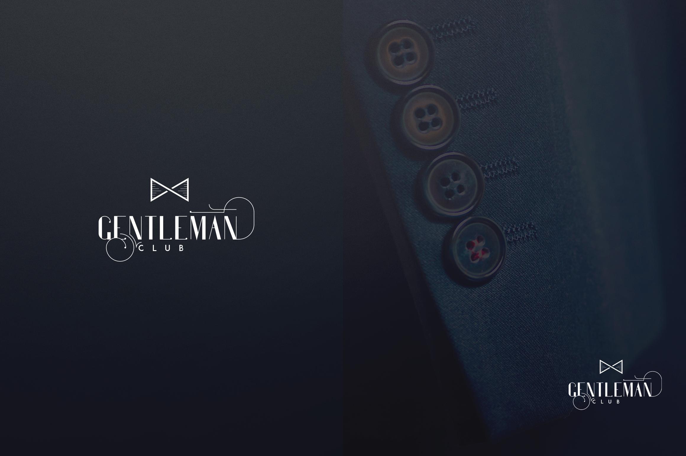 Gentleman font  10 Logo Templates example image 14