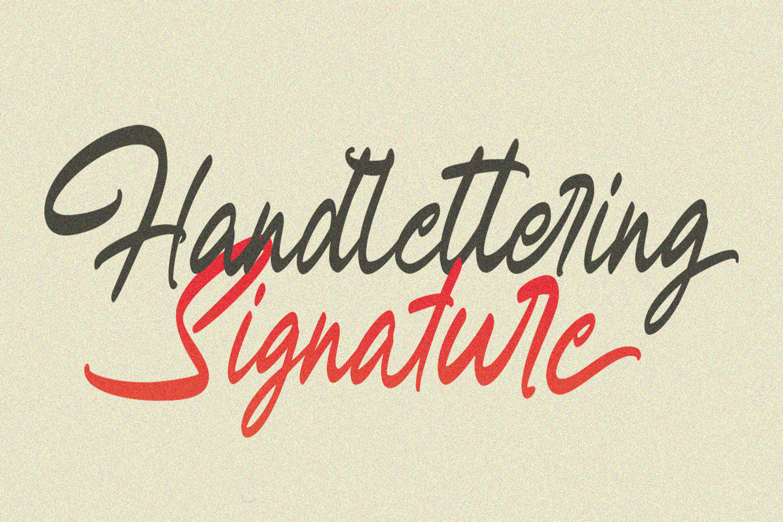 Harringtone Script example image 14