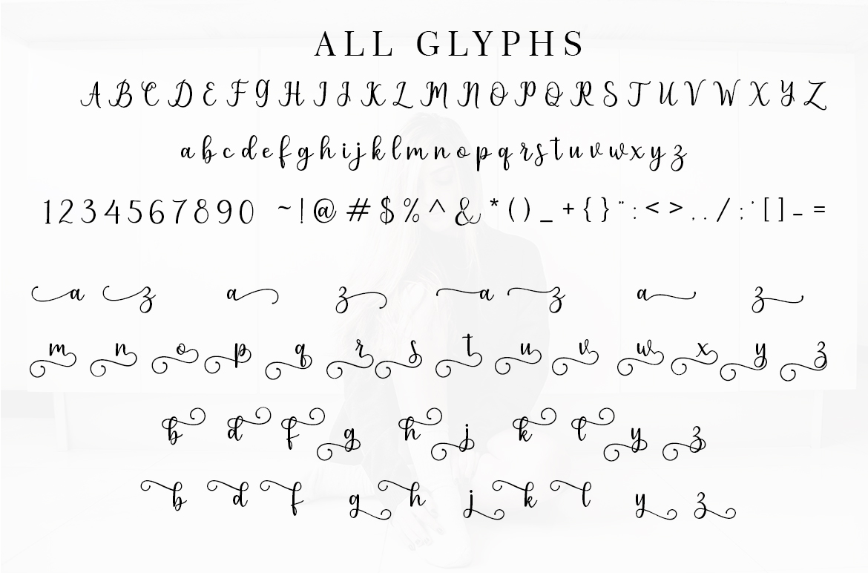 Pruistin Script example image 6