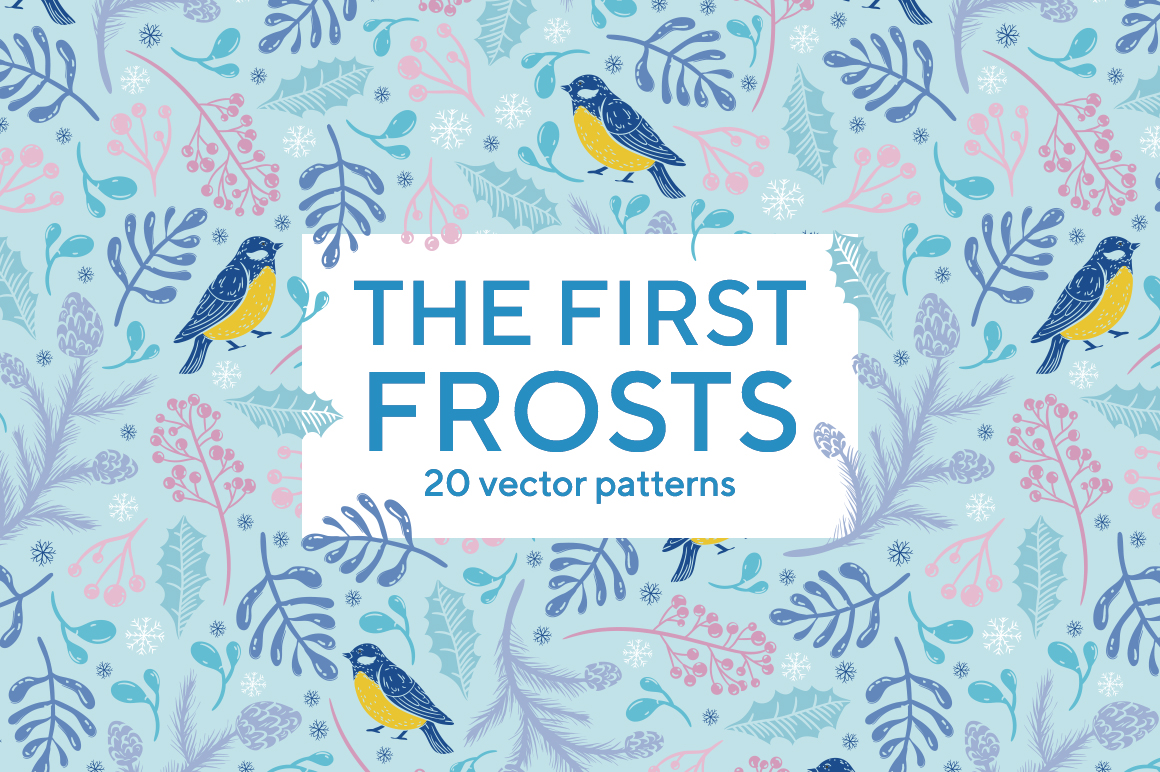 The first frosts patterns collection example image 12
