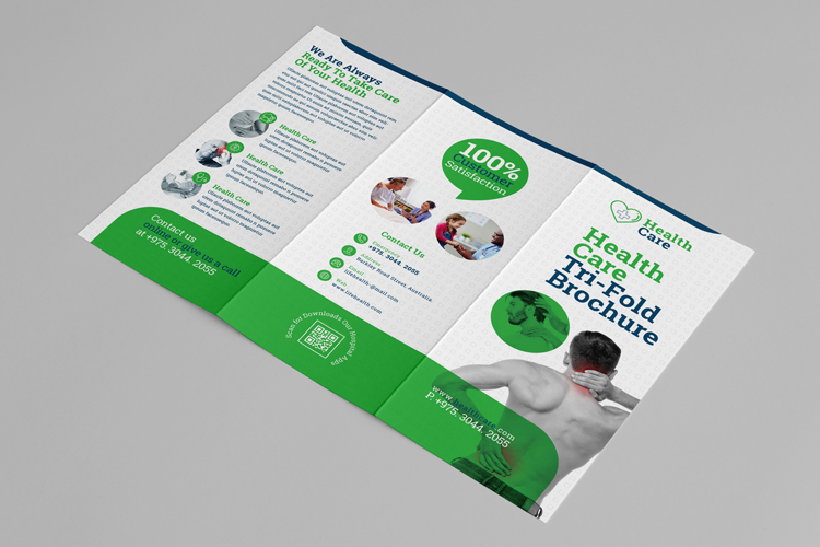 Health Professional Trifold Brochure Template example image 2