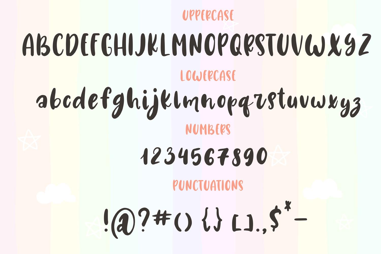 Unicorn Horn Font example image 6