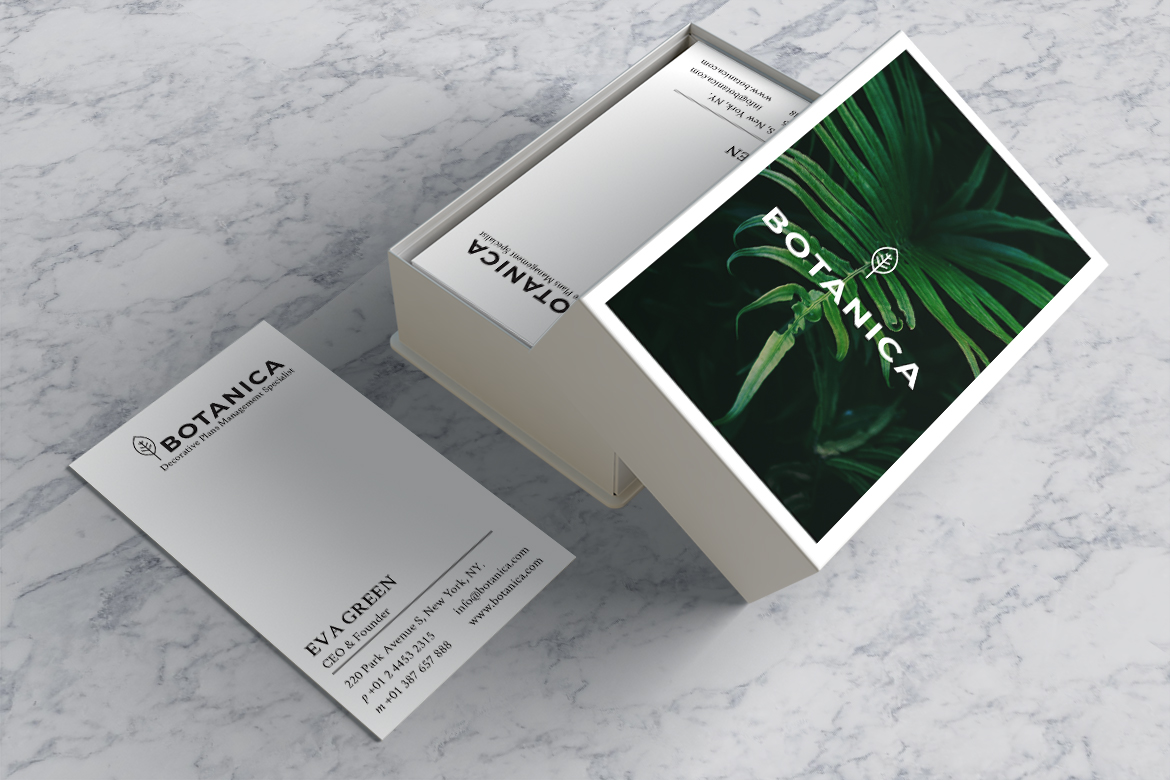 BOTANICA Business Card Template example image 10