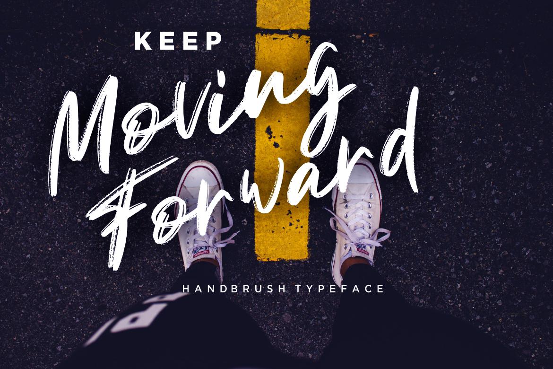 Gondala Handbrush Typeface example image 4