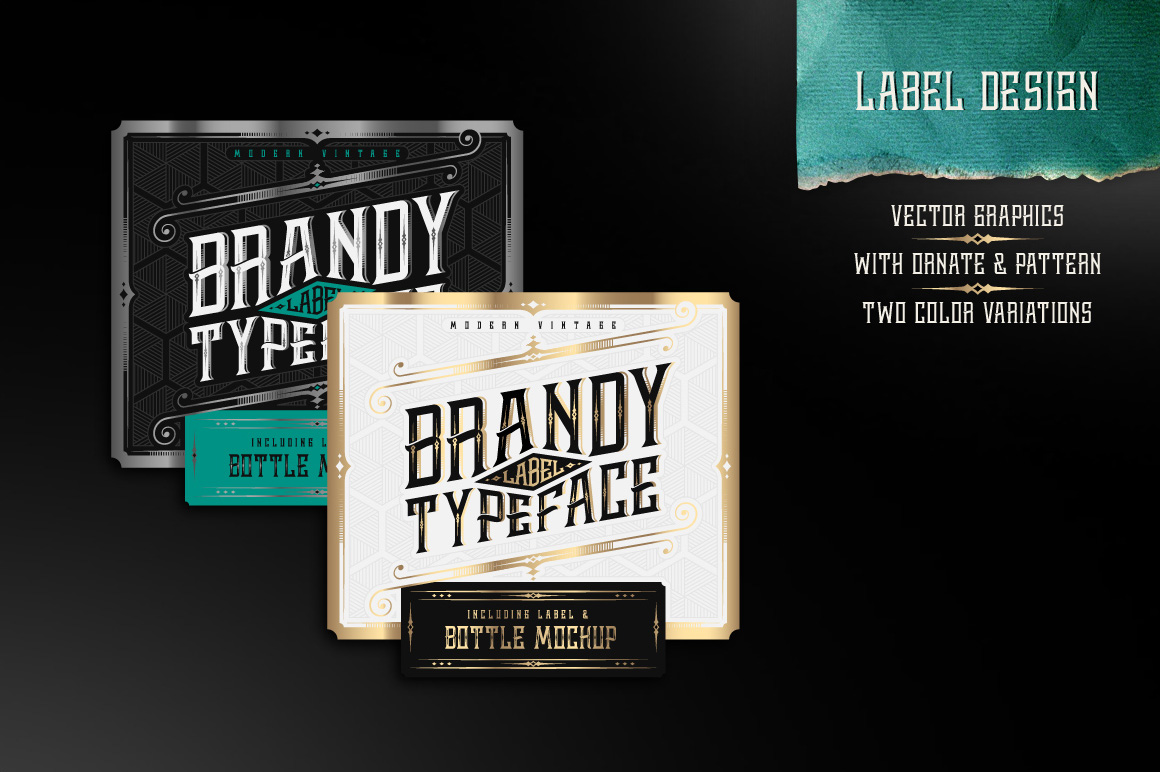 Brandy design set example image 3