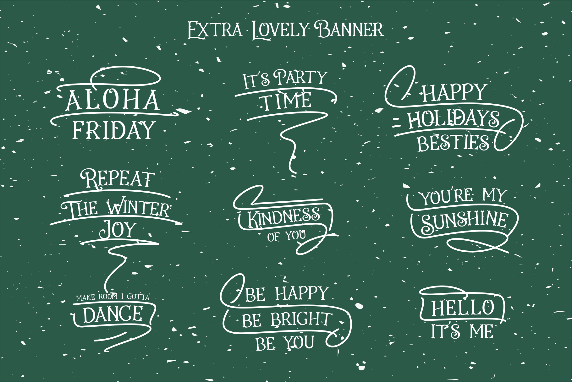 Holiday Present Fonts example image 7