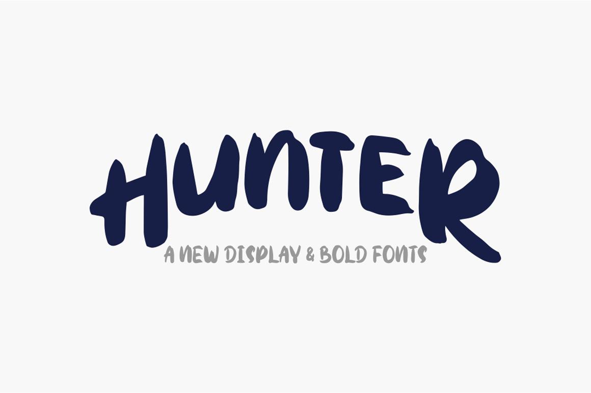 Hunter Typeface example image 1