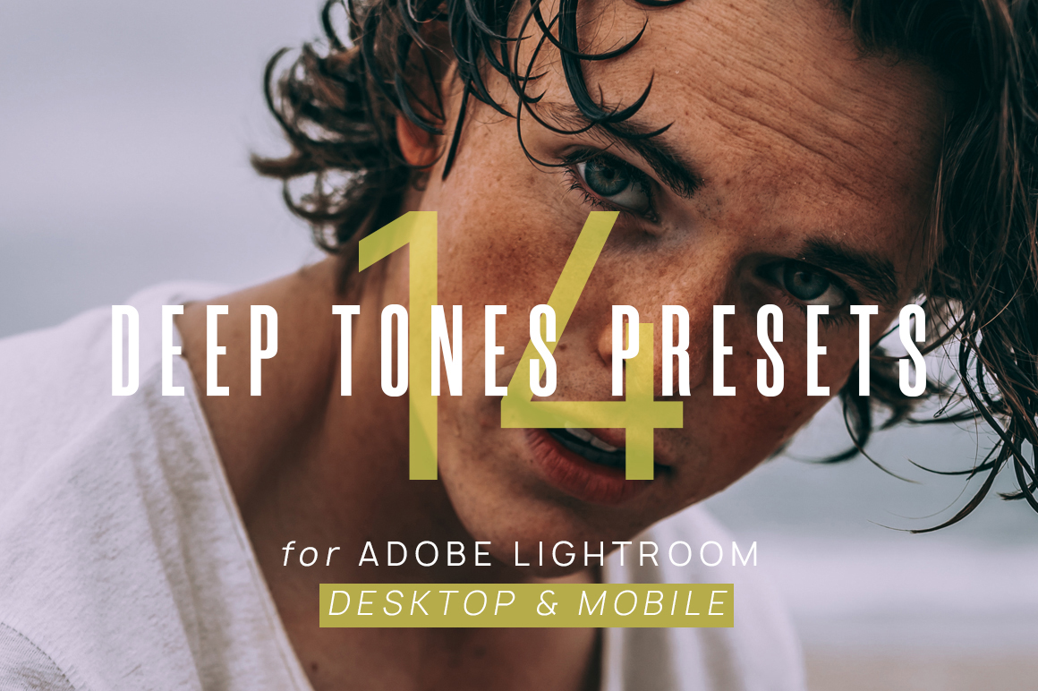 14 Deep Tones Presets for Lighroom example image 1