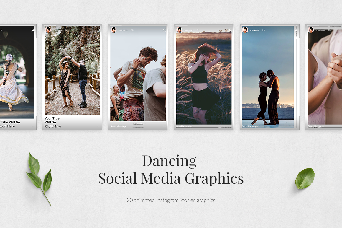 Dancing Animated Instagram Stories example image 2