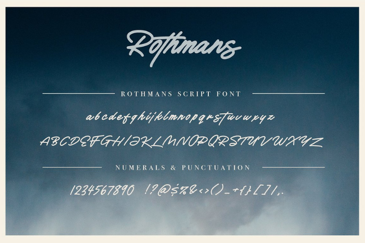 Rothmans - Font Duo Free Version example image 2