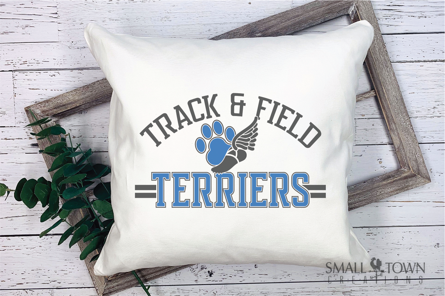 Terrier, Track and Field, Team, Logo, PRINT, CUT, DESIGN example image 3