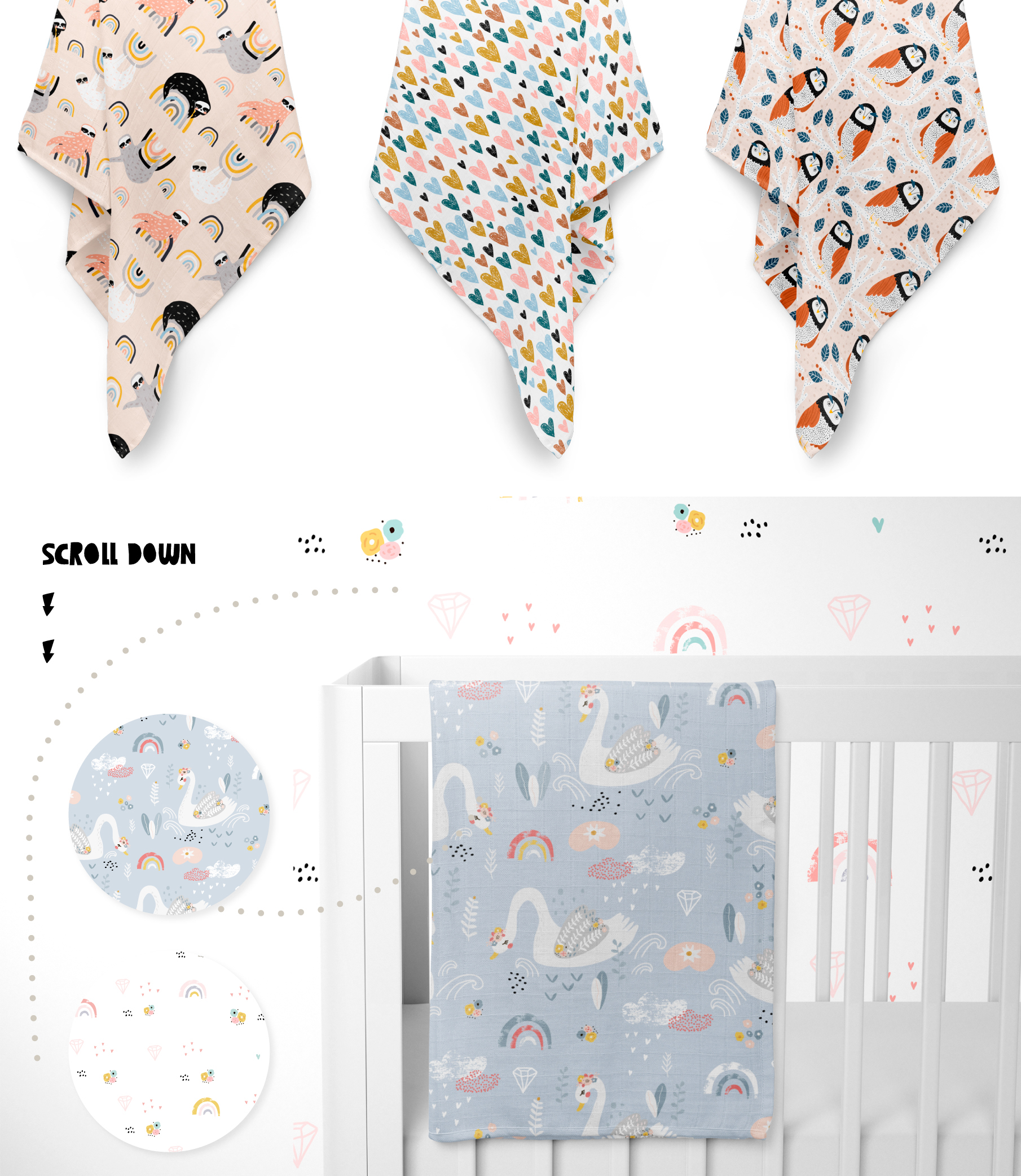 Childish patterns pack vol. 5 example image 9
