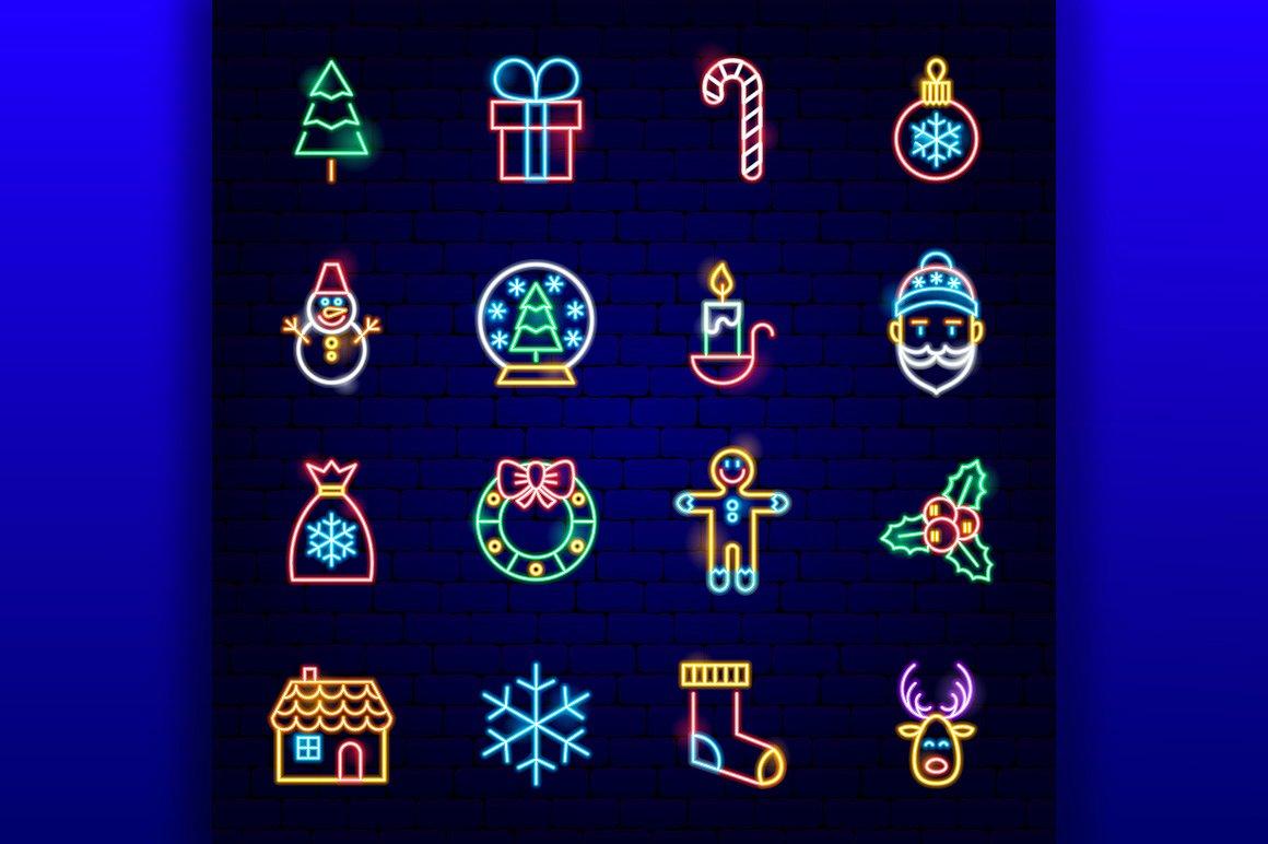 Christmas Neon example image 4