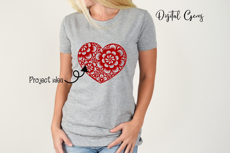 Heart, Valentines / love design example image 4