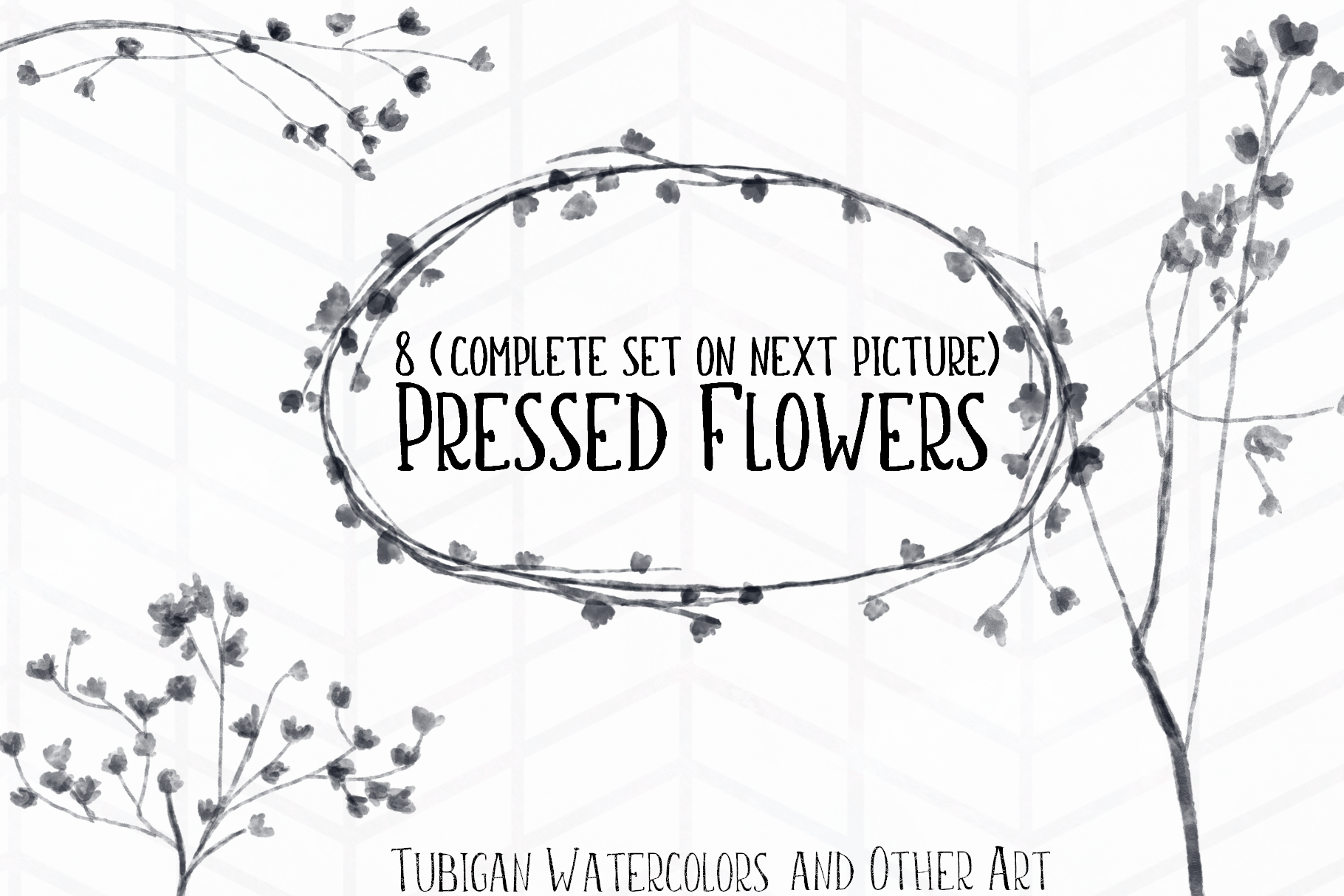 8 Pressed Flowers example image 1