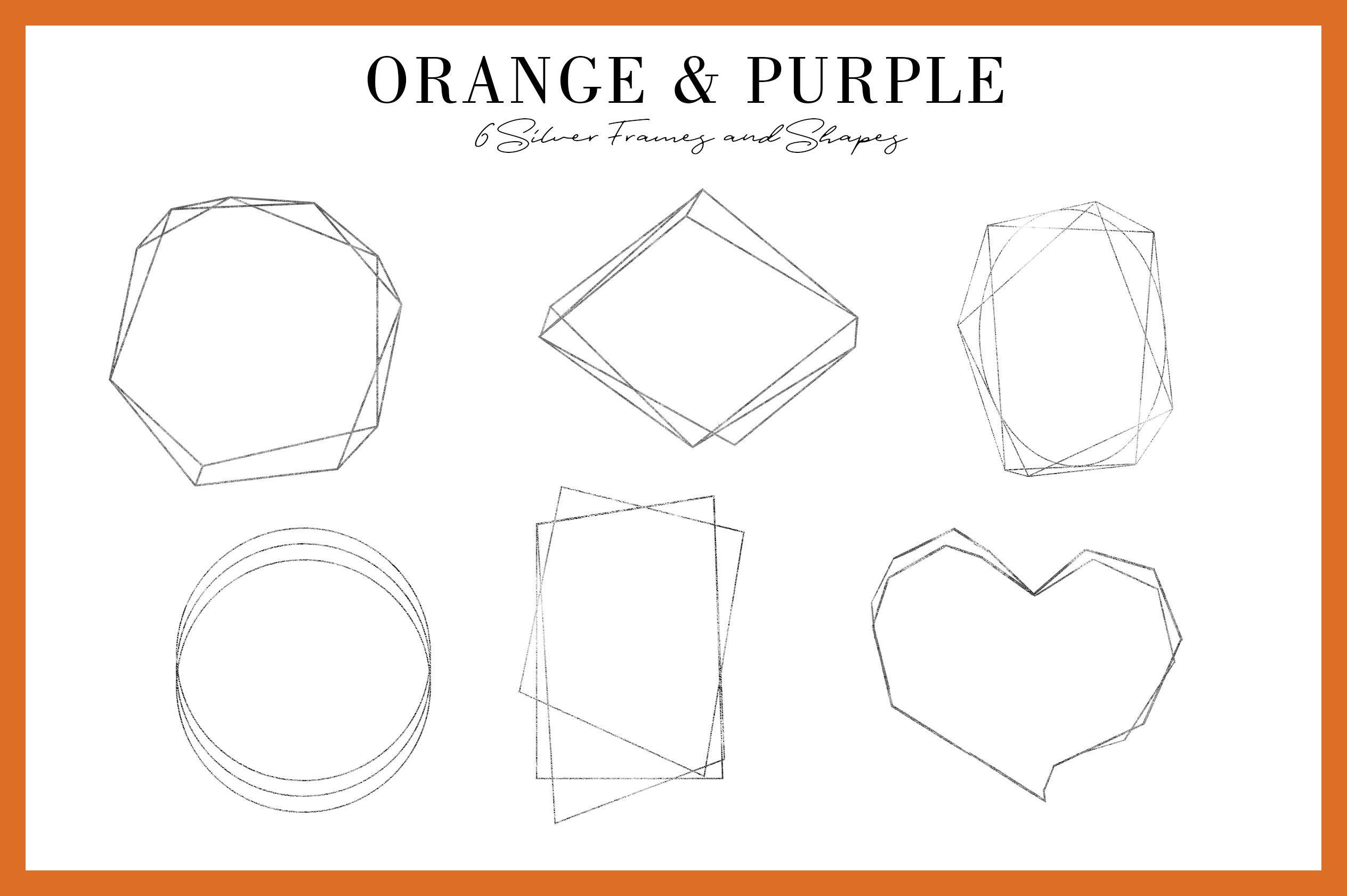 Orange & Purple Flower | Halloween Blossom example image 4