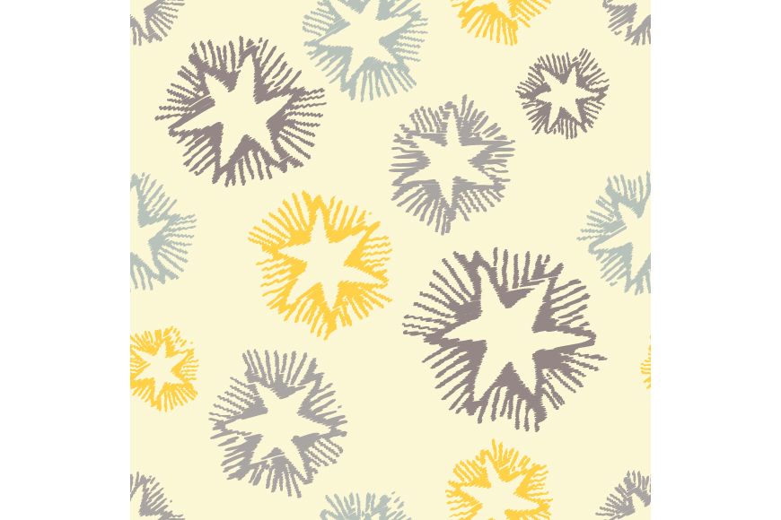 Set of 12 boho seamless vector backgrounds.  example image 5