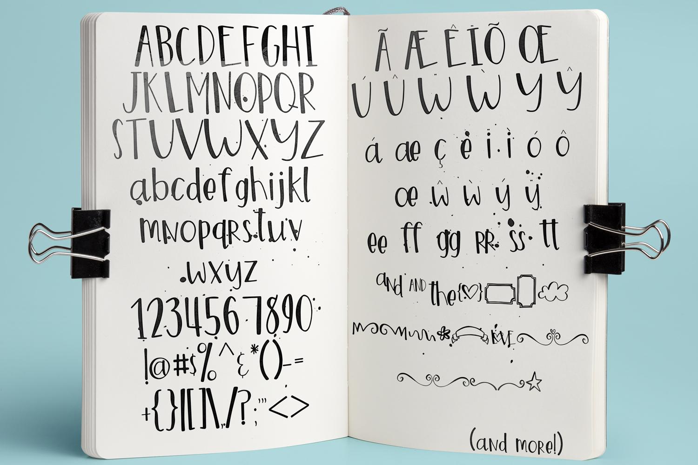 Marigold Font example image 2