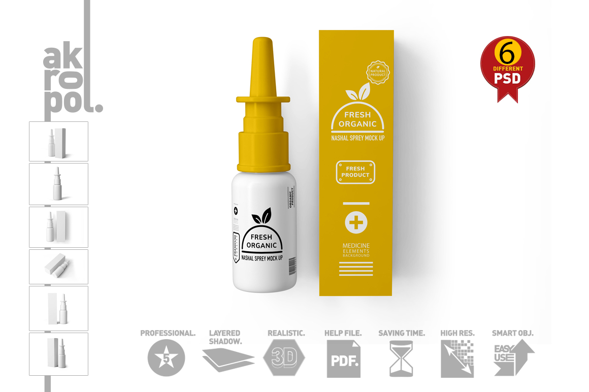 Nasal Spray Mock Up example image 15