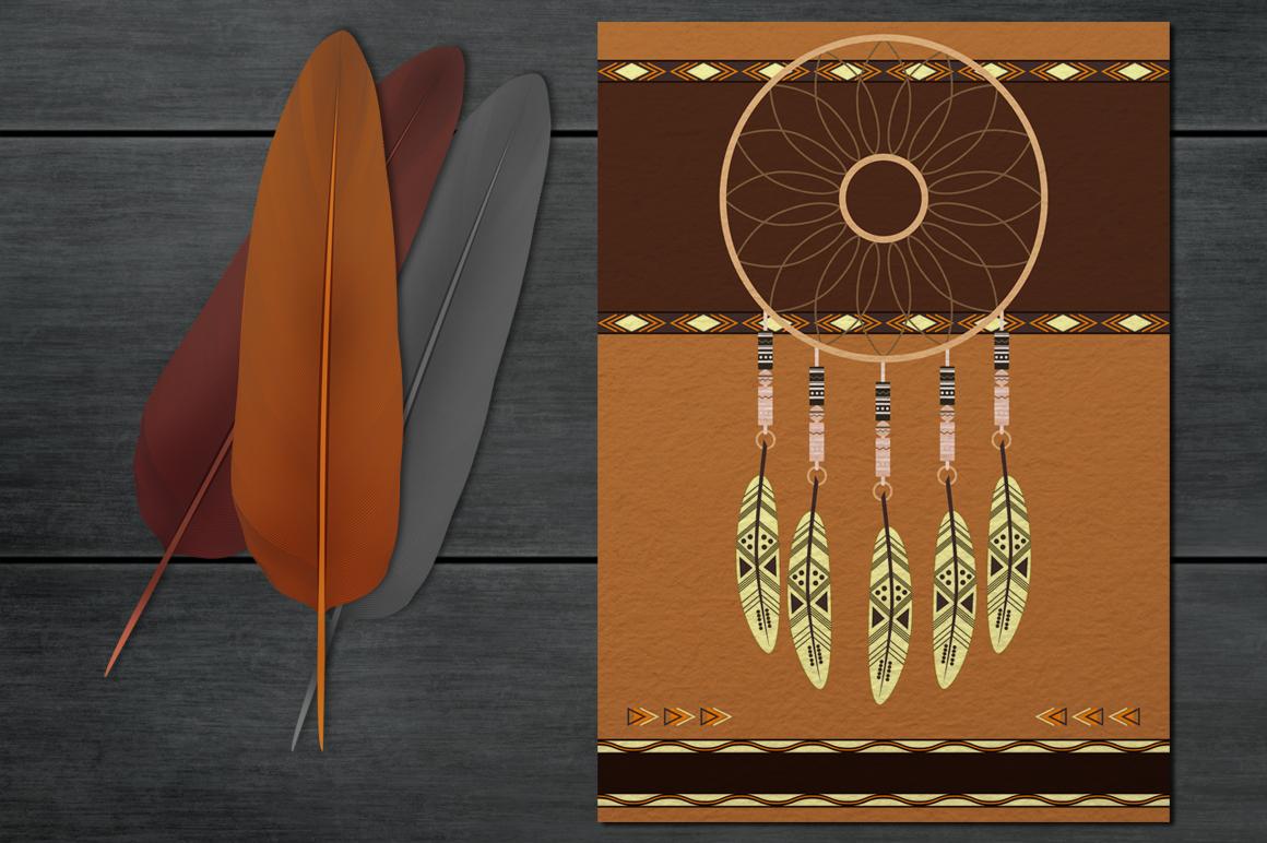Big stylish ethnic dream catcher example image 2