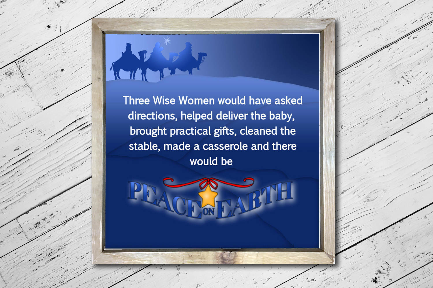Wise Women Square Print example image 3